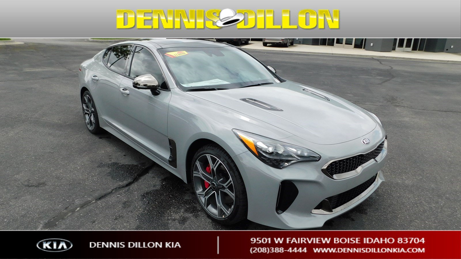 New 2019 Kia Stinger Gt2 4dr Car In Boise K2k334 Dennis Dillon Kia