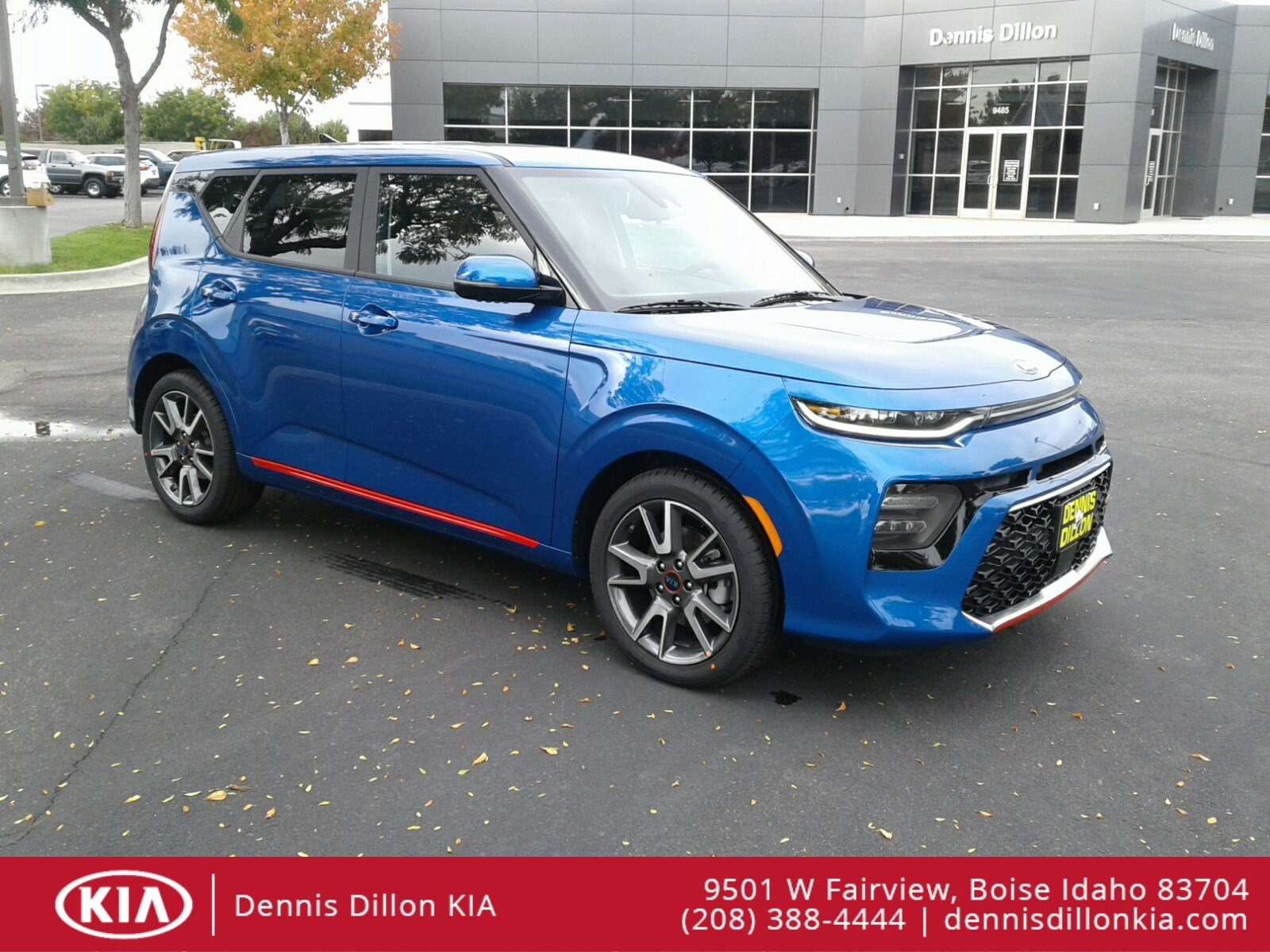New 2020 Kia Soul Gt Line Turbo Hatchback In Boise K2l205